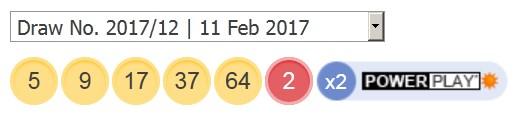 11 februari 2017 amerikaanse powerball lotto resultaten van vandaag
