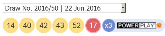 22-ਜੂਨ -2016 ਪਾਵਰਬਾਲ-ਲੋਟੋ-ਨਤੀਜੇ