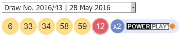 28-may-2016-ਪਾਵਰਬਾਲ-ਲੋਟੋ-ਨਤੀਜੇ