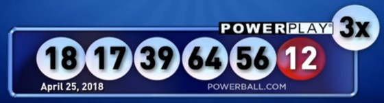 Powerball-results-25-april-2018
