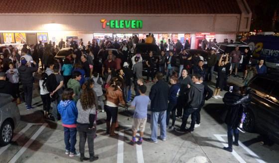 7eleven ruokakauppaan, joka sijaitsee chino-kukkuloilla Los Angelesin lähellä, myi voittavan Powerball-kuponin tammikuussa 2016