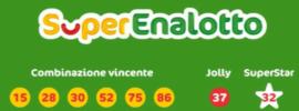 Výsledky italské loterie Superenalotto pro čtvrtek 25. března 2021