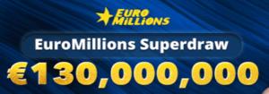 Πότε είναι το επόμενο superdraw λοταρίας της Euromillions;